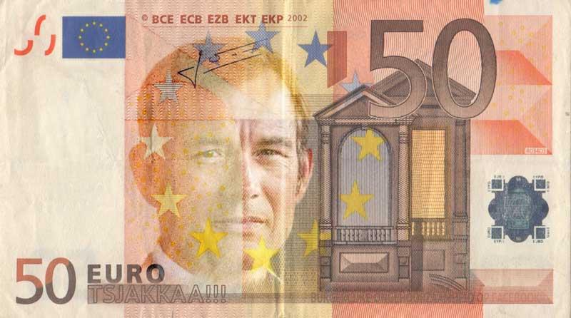 50 eurobiljet Ewald Engelen