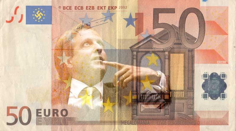 50 eurobiljet megalomaan pechtold