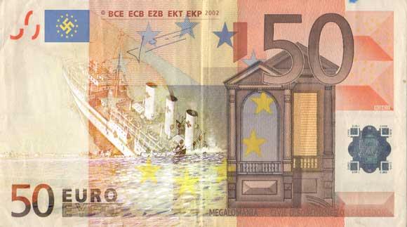 euro is het zinkend schip