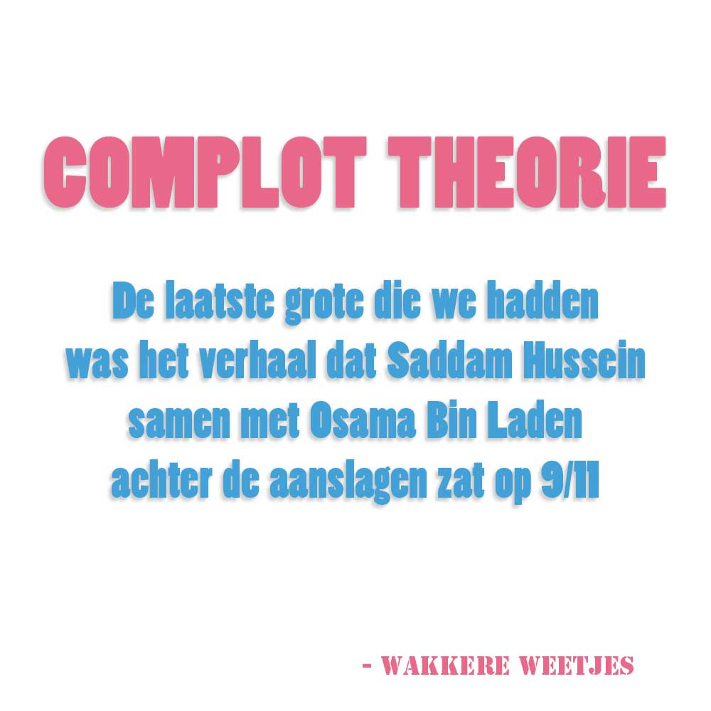 Complot Theorie