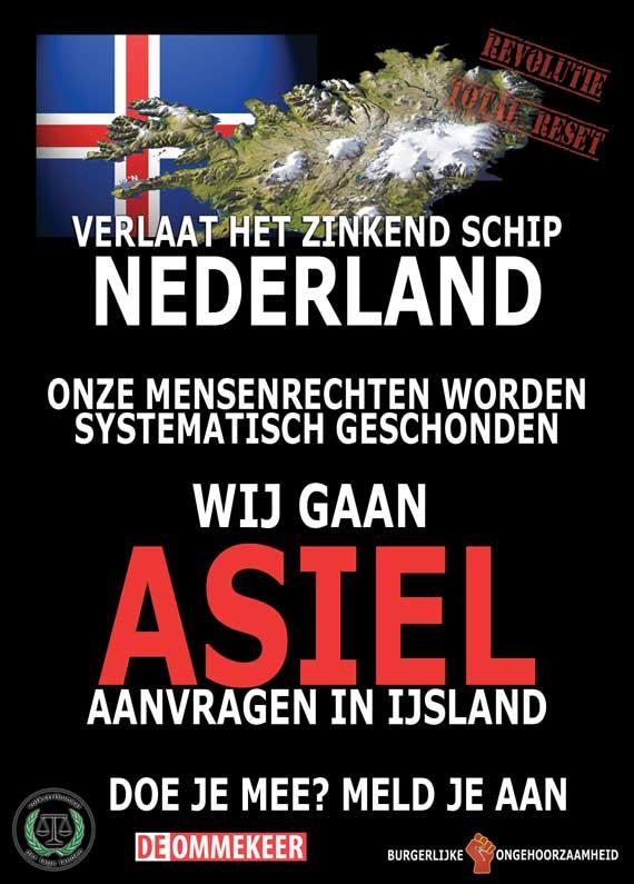 Asiel aanvragen in IJsland