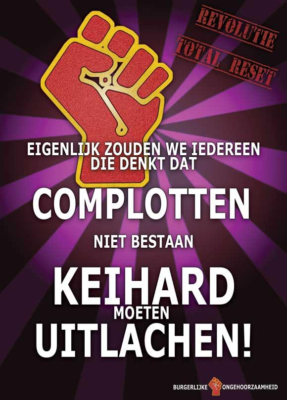 Complotten bestaan niet van burgerlijke ongehoorzaamheid op Facebook Jan Willem van Prooijen