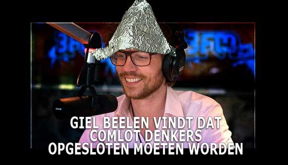 Giel Beelen complot theorist de ommekeer
