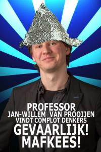 Jan Willem van Prooijen Complot Theorie de Ommekeer
