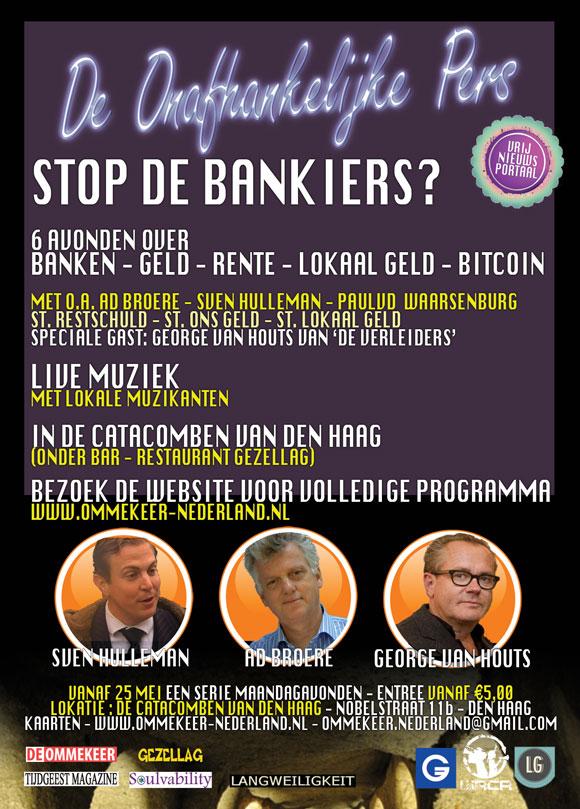De atacomben van den haag. Onafhankelijke media over banken geld en de Oekraïne.