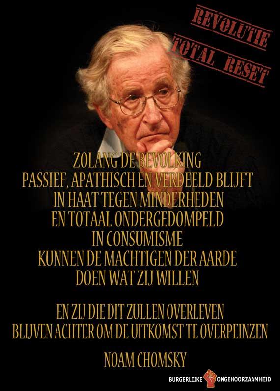 Noam Chomsky Hoe kunnen we de elite stoppen?