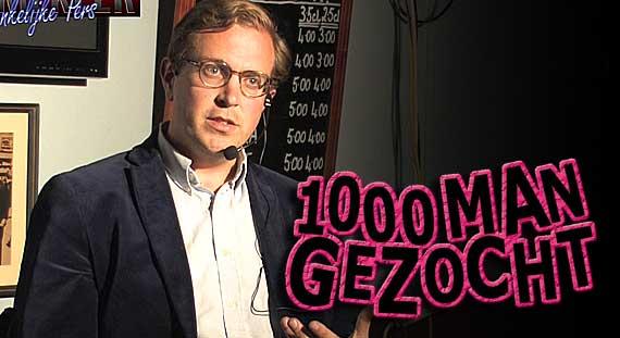 Sven Hulleman 1000 man gezocht Onafhankelijke Pers