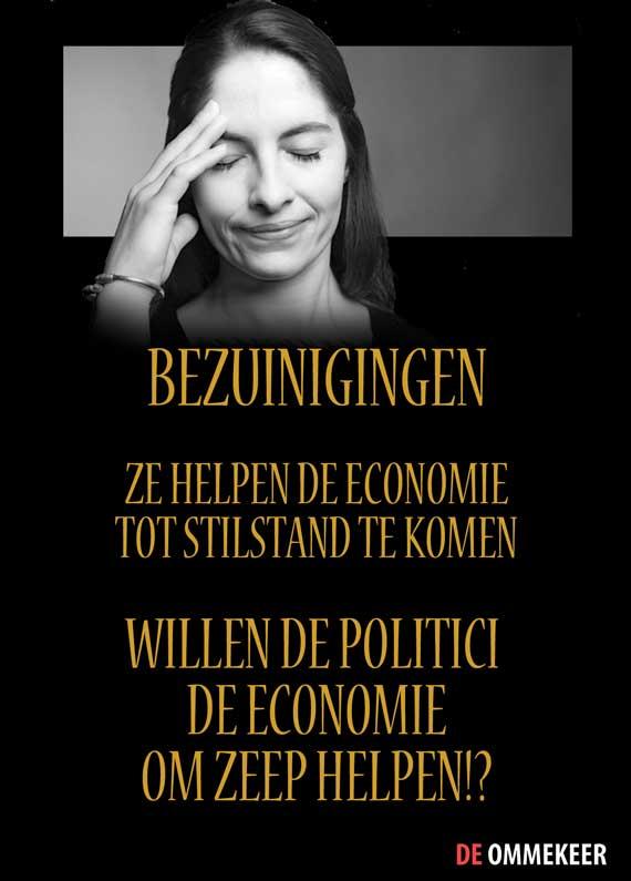 Bezuinigingen maakt economie kapot. De Ommekeer
