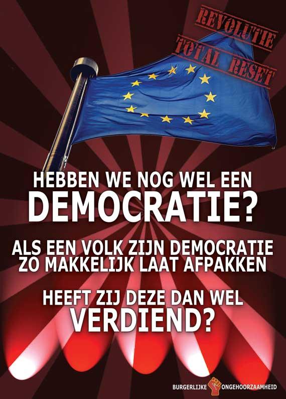 EU Democratie een farce? Burgerlijke Ongehoorzaamheid