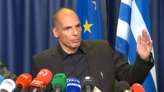Griekenland President Varoufakis wil Referendum