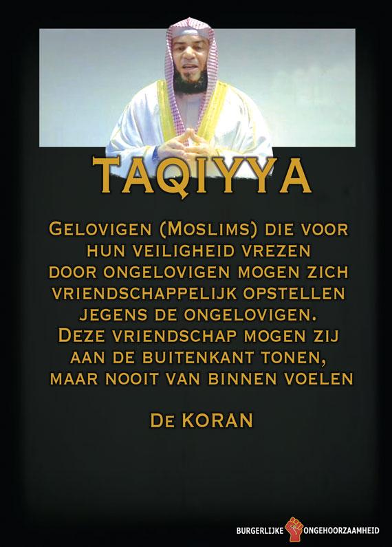 Van de Islam mag je liegen tegen Kafir - Burgerlijke Ongehoorzaamheid