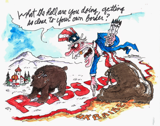 Rusland provoceert