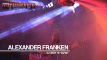 Alexander Franken protest muziek uit Nederland bij de Onafhankelijke Pers