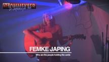Femke Japing protest muziek uit Nederland bij de Onafhankelijke Pers